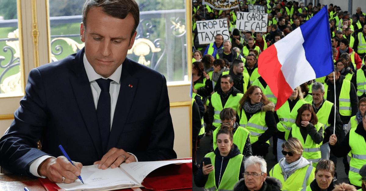 Macron's letter